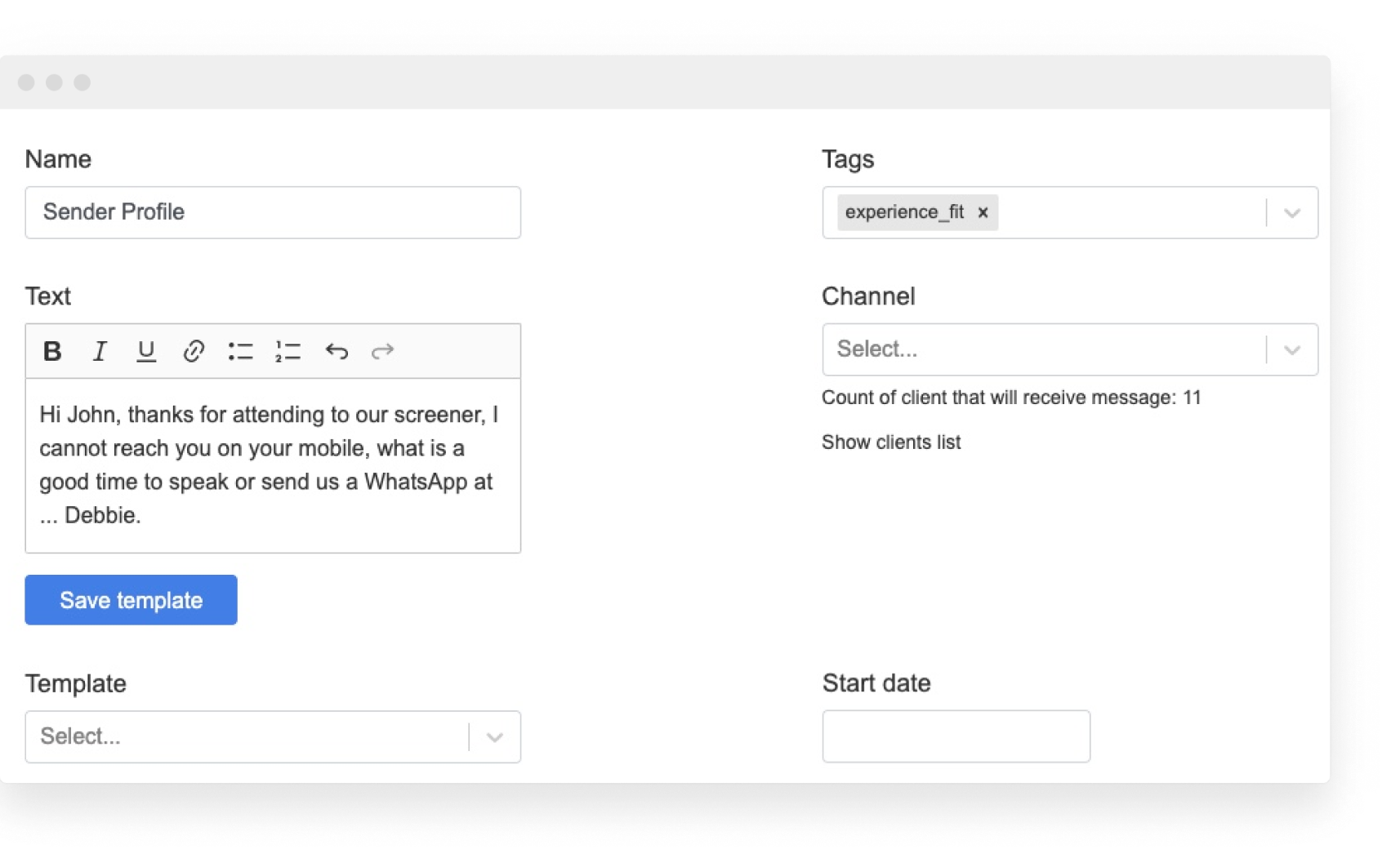 Improve team productivity with a shared chat inbox and centralize all your messaging channels